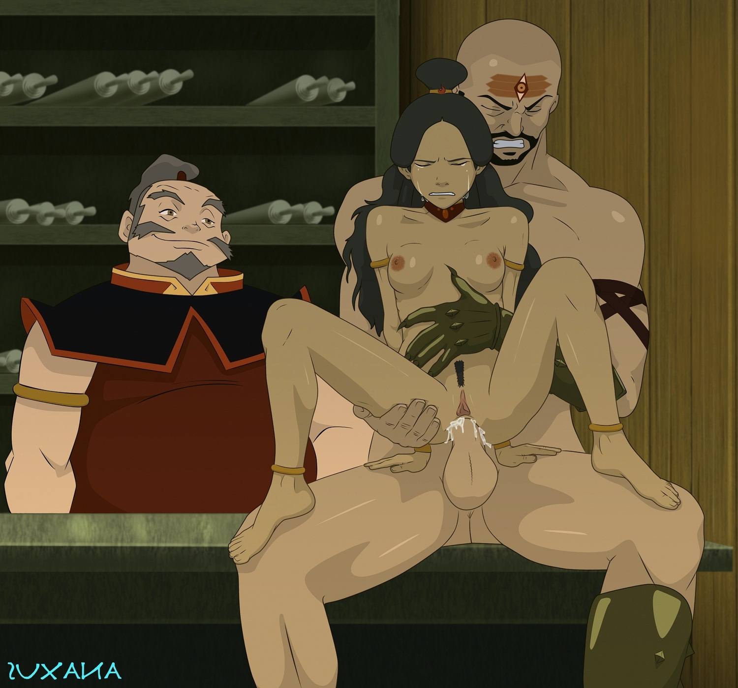 Avatar the last airbender katara and sokka something is