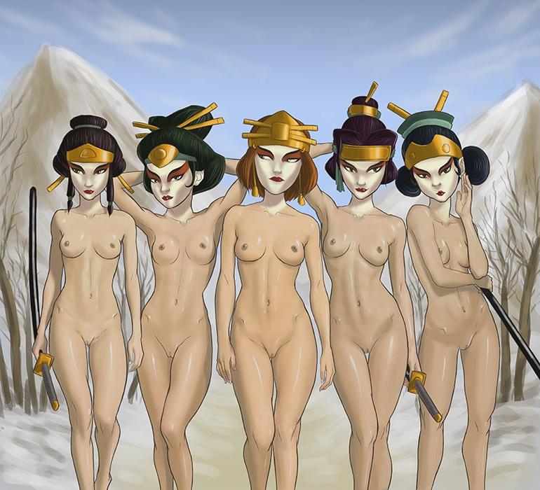 Opinion Avatar girls naked
