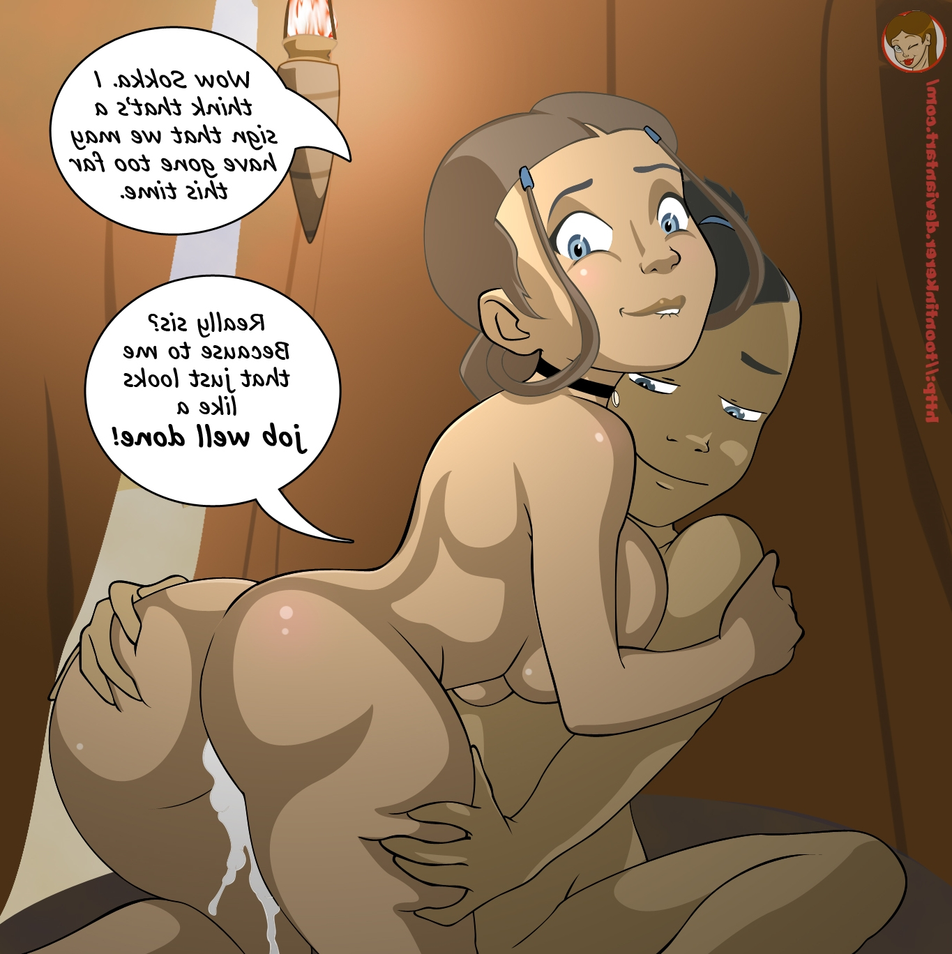 comics cartoon porn Avatar katara