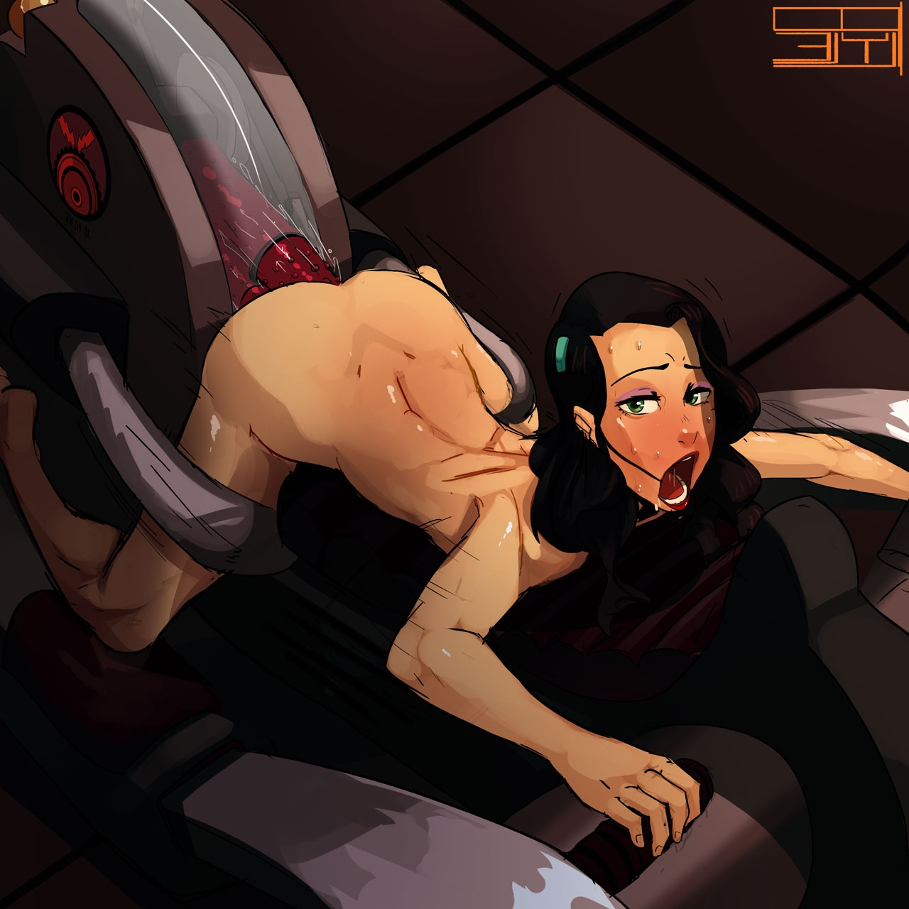 anal restrained