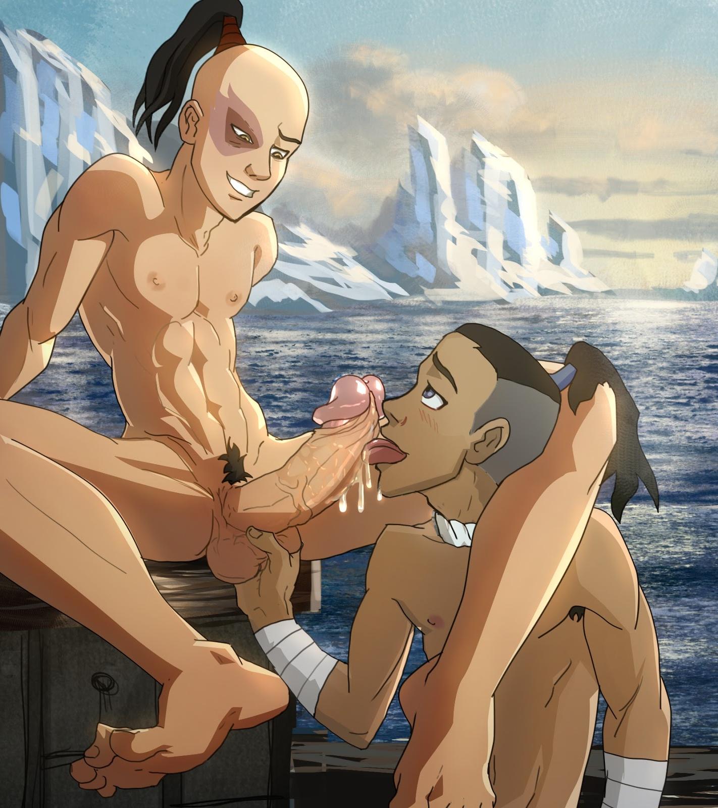 Я...........вот это гей порно аватар аанг могли расписать